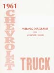 1961 Wiring Diagram Booklet - Chevy Truck