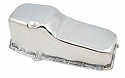 1965-1979 Oil Pan (LH Dip) Chrome Small Block - Chevy/GM