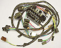 1960 Under Dash Wire Harness (For Trucks with Turn signals & Factory Gauges) - Chevy Truck