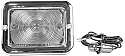 1954-1955 ParkLight Assembly 12V Clear L/R Chevy/GMC Truck