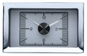 1957 Chevrolet Car HLC Clock (For HDX Gauge Clusters) - Silver Alloy