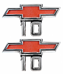 1967-1968 Fender Emblems - Chevy Truck
