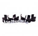 "NotchHead Soft Line Clamp 3/4"" 6 Pack"