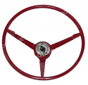 65/66 MUSTANGSTEERING WHEEL BLUE (shown in red)