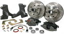 1963-1970 Modular Drop Front Brake 5x5 5 Lug Kit