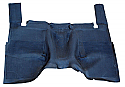 1967 - 1972 Chevrolet & GMC Pickup Truck High Tunnel Rubber Floor Mat - GM Truck