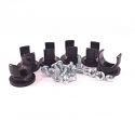 "NotchHead Soft Line Clamp 1/2"" 6 Pack"