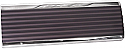 1947-1953 Chevrolet & GMC Truck Stainless Steel Glove Box Door with Painted Detail - GM Truck