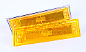 1981-1987 Side Marker Front Standard Original Style Left Hand Amber - Chevy/GMC Truck