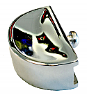 1947-1953 Ash tray knob Chrome - Chevy Truck