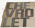 1958-1966 Tailgate letter Decals - Chevy Truck