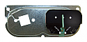 1955-1959 Chevrolet Pickup Truck Ammeter Gauge with Mechanical Backing Plate - GM Truck