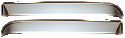 1967-1972 Door Vent Shades (Stainless) - GM Truck