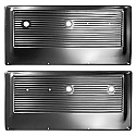 1967-1968 Door Panels Original Steel Black - GM Truck