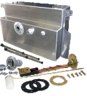 1955-1959 Aluminum Gas Tank Kit - GM Truck