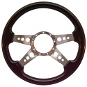 4 SPOKE HOLES STEERING WHEEL BLACK