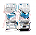 1952-1963 Door Latch Strikers (Pair) - GM Truck