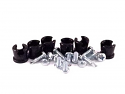"NotchHead Hard Line Clamp Kit 3/8"" 6 Pack"