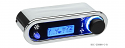 DCC Digital Climate Control - Vintage Air Gen IV - VHX Style - Horizontal, Chrome, Blue Display