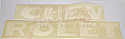 1947-1953 Tailgate Letter Decals - Chevy Truck