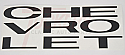1963-1966 Grill Letter Decals - Chevy Truck