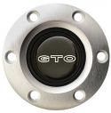 VOLANTE HORN CAP EMBLEM S6 GTO BRUSHED