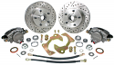 1960-1962 5 on 4-3/4 Stock Height 5-Lug Wheel Brake Kit