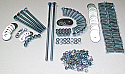 1954-1987 Front Bed Panel Bolt Kit - GM Truck