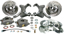 "1973-1987 Front Brake OE 2-1/2"" Drop Spindle 5x5 5 Lug Kit"