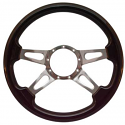 4 SPOKE SLOTS STEERING WHEEL