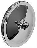 "1947-1972 Original 5"" Round Mirror Head (Chrome)"