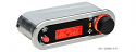 DCC Digital Climate Control - Vintage Air Gen IV - VHX Style - Horizontal, Satin Bezel, Red Display