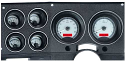1973-1987 Chevrolet & GMC Truck VHX Instrument Gauge Cluster - Silver Face / White Illumination