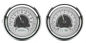 1947-1953 Dakota Digital VHX Series Gauge Package, Silver Face White Illumination (FREE SHIPPING)