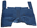 1967 - 1972 Chevrolet & GMC Pickup Truck Low Tunnel Rubber Floor Mat - GM Truck