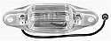 1967-1991 Chevrolet & GMC C10 Rear License Plate Light Assembly - GM Truck