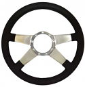 4 SPOKE NO HOLES STEERING WHEEL
